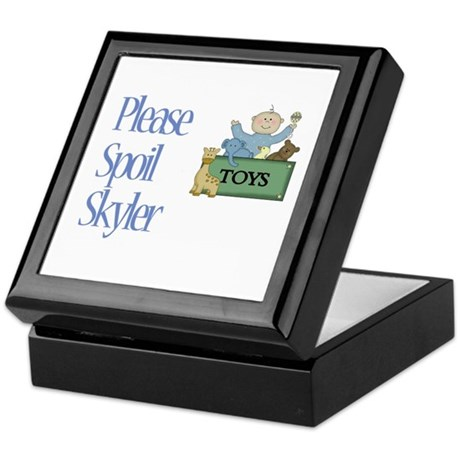 Please Spoil Skyler Keepsake Box