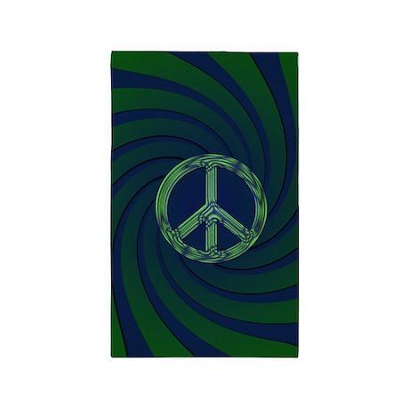 Peace Area Rug