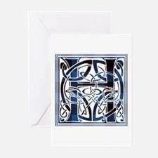 Monogram - Home Greeting Cards (Pk of 10)