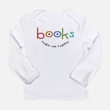 BOOKs_happyTOTEfixed Long Sleeve T-Shirt
