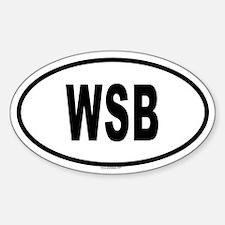 WSB Oval Decal