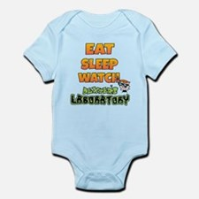 Eat Sleep watch Dexters Laboratory Body Suit