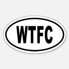 WTFC Oval Decal