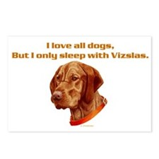 Sleep with Vizslas Postcards (Package of 8)