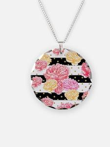 Watercolor Floral Necklace