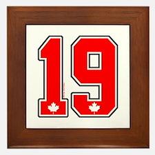 CA(CAN) Canada Hockey 19 Framed Tile