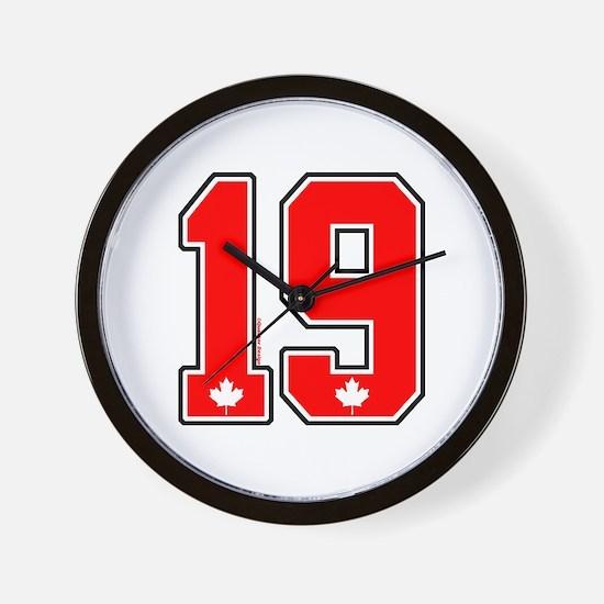 CA(CAN) Canada Hockey 19 Wall Clock
