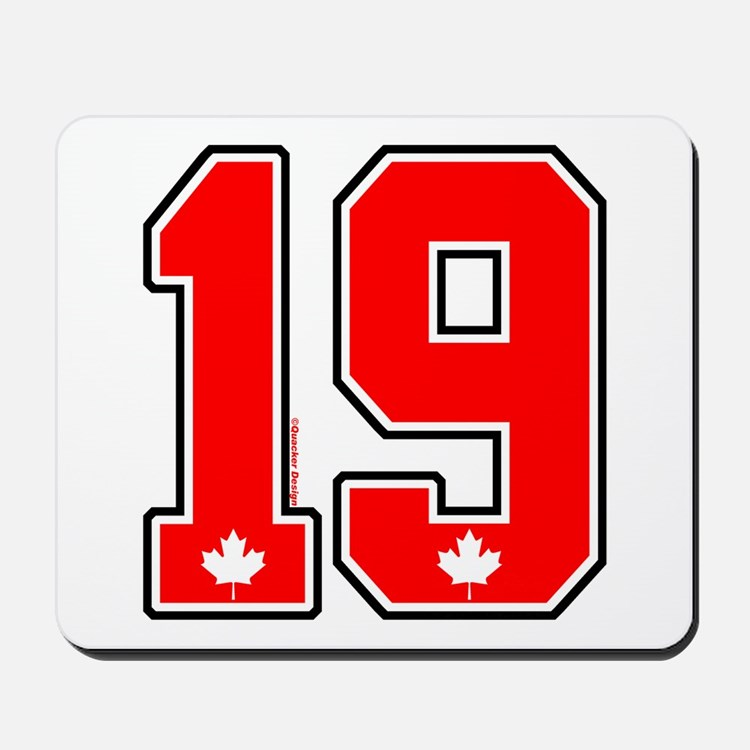 CA(CAN) Canada Hockey 19 Mousepad
