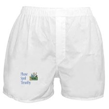 Please Spoil Timothy Boxer Shorts