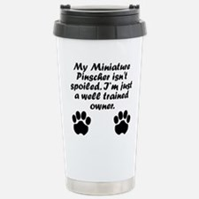 Unique Miniature pinscher Travel Mug