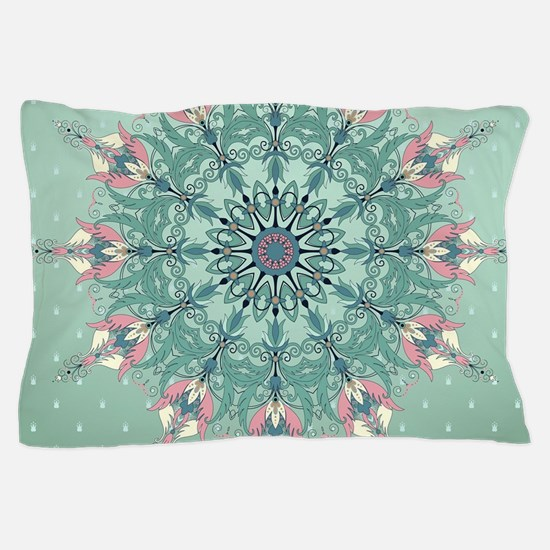 Vintage Floral Pillow Case