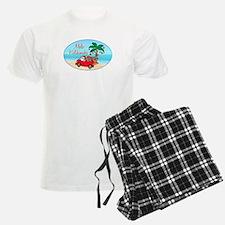 2-hawaiian xmas tee 2 Pajamas