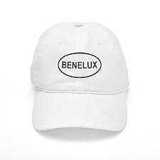 Benelux White Baseball Cap