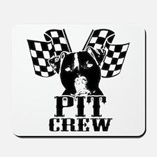 Pit Bull Pit Crew Mousepad