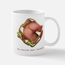 The Worlds Best Sandwich Mugs