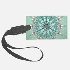 Vintage Floral Luggage Tag