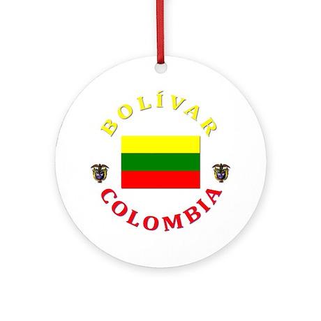 Bolivar Ornament (Round)