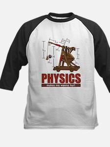 physics_hurl3-brown Baseball Jersey