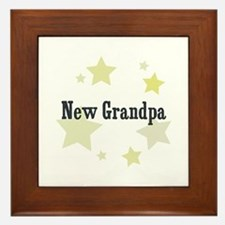 New Grandpa Framed Tile