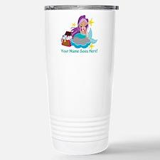 Purple Mermaid Travel Mug