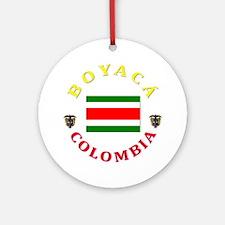 Boyaca Ornament (Round)