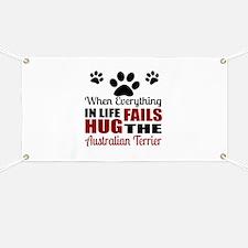 Hug The Australian Terrier Banner