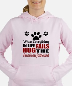Hug The American Foxhoun Women's Hooded Sweatshirt