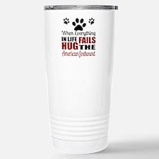 Hug The American Foxhou Stainless Steel Travel Mug