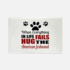 Hug The American Foxhou Rectangle Magnet (10 pack)