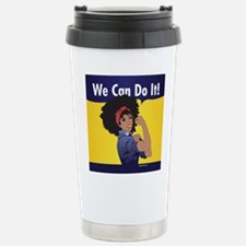 Unique Afro Travel Mug