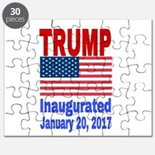 Trump Inaugurated January 20, 2017 Puzzle
