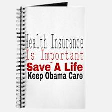 Keep Obama Care Journal