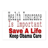 Affordable care act Postcards