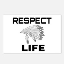 RESPECT LIFE Postcards (Package of 8)