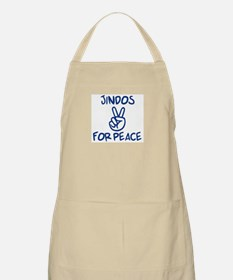 Jindos for Peace BBQ Apron