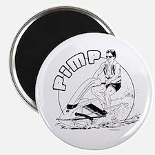 Pimp Ski ~ Magnet