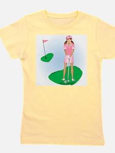 Lady Golfer Brunette T-Shirt
