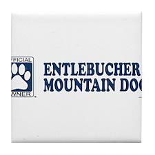 ENTLEBUCHER MOUNTAIN DOG Tile Coaster