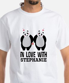 Personalized His And Hers Couples T-Shirt