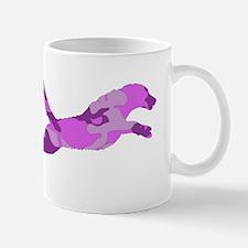 Pink/Purple Camo Chesapeake Bay Retriever Mugs