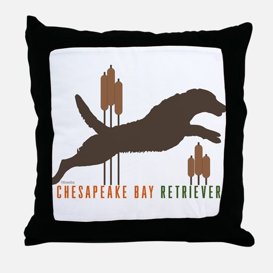 Chesapeake Bay Retriever Throw Pillow