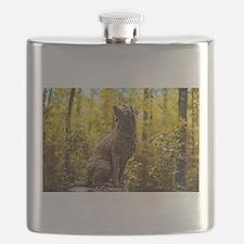Chesapeake Bay Retriever Flask