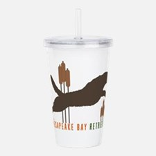 Chesapeake Bay Retriev Acrylic Double-wall Tumbler