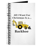 Christmas Backhoe Journal