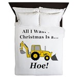 Christmas Hoe Queen Duvet