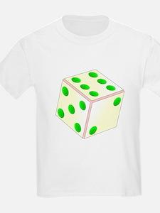 Tumbling Ivory Dice T-Shirt