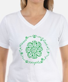 Tribal Peace Wreath T-Shirt