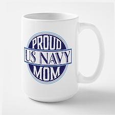 Proud US Navy Mom Mugs