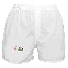 Please Spoil Lily Boxer Shorts