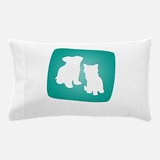 i love pets Pillow Case